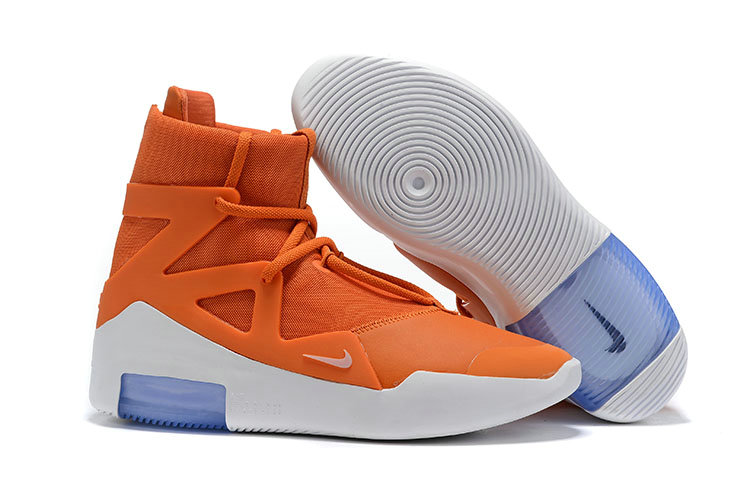 2019 Cheap Nike Air Fear of God 1 SS19 Colorways Reveal Orange Pulse Sail Black Frosted Spruce