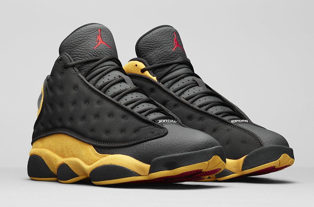 2019 Cheap Nike Air Jordan 13 Carmelo Anthony Class of 2002 414571-035 Black University Red-University Gold 414571-035