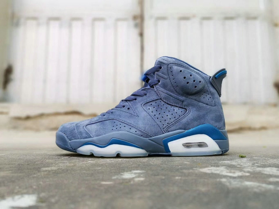 2019 Cheap Nike Air Jordan 6 Diffused Blue 384664-400