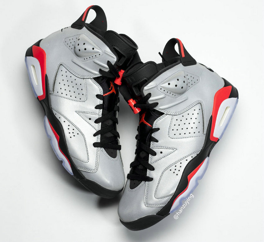 2019 Cheap Nike Air Jordan 6 JSP 3M Reflective Infrared Black-Infrared