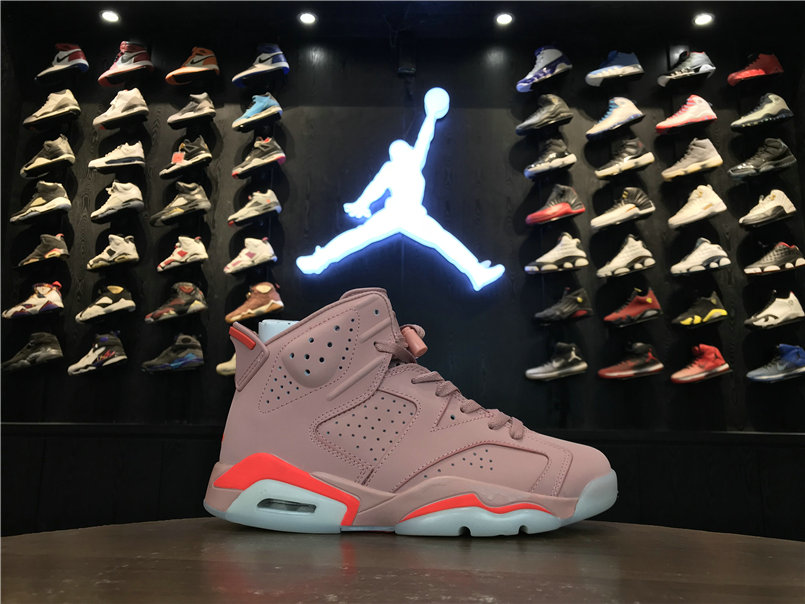 2019 Cheap Nike Air Jordan 6 Millennial Pink 384664-031