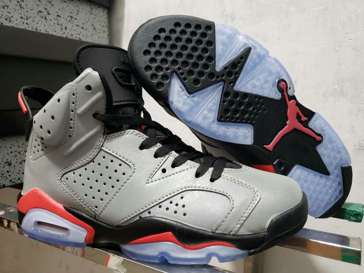 2019 Cheap Nike Air Jordan 6 Reflect Silver Infrared CI4072-001