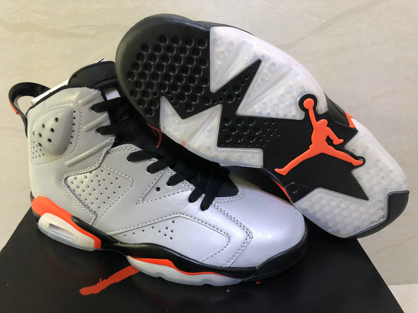 2019 Cheap Nike Air Jordan 6 Retro SP Reflect Silver Infrared-Black CI4072-001