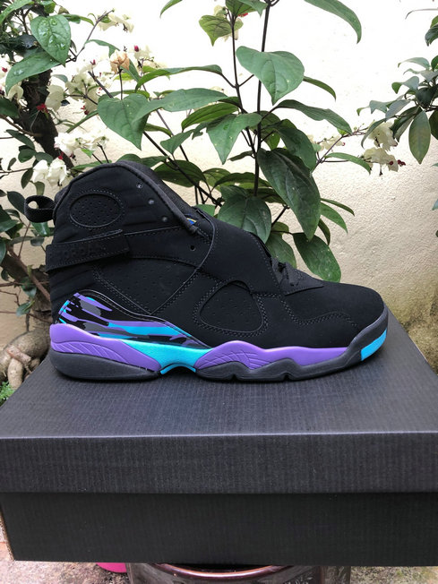 2019 Cheap Nike Air Jordan 8 Retro Aqua Black Bright Concord-Aqua 305381-041