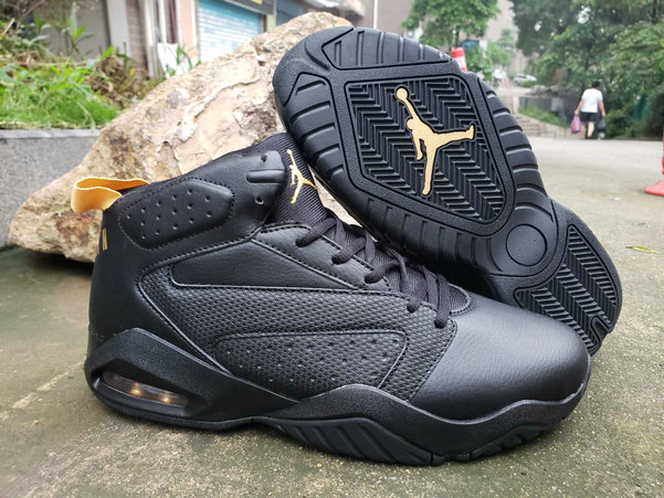 2019 Cheap Nike Air Jordan Lift Off AJ6 Gold Black