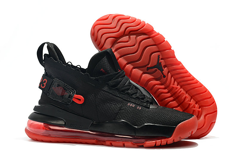 2019 Cheap Nike Air Jordan Proto Max 720 Black And Red BQ6623-006