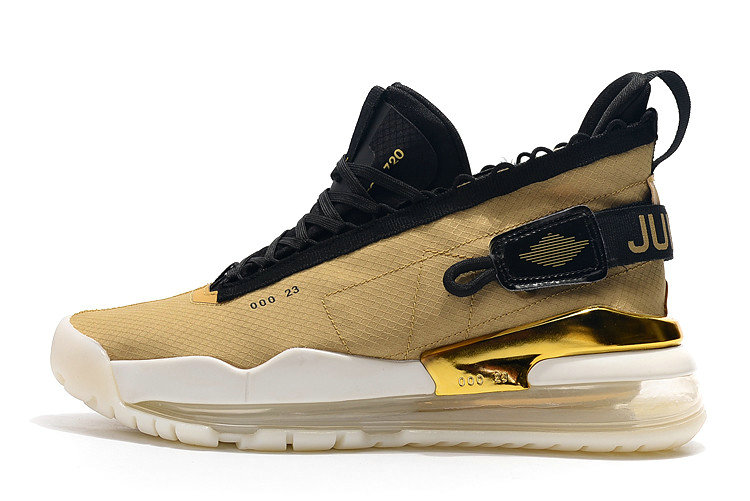 2019 Cheap Nike Air Jordan Proto Max 720 Gold Black BQ6623-700