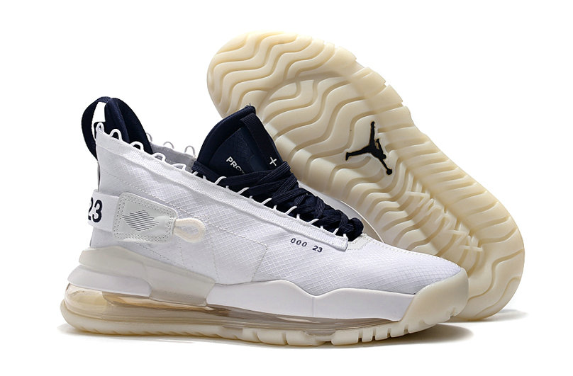 2019 Cheap Nike Air Jordan Proto Max 720 White Navy Blue