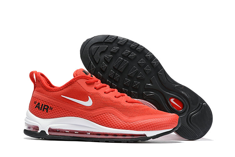 2019 Cheap Nike Air Max 97 Ultra 17 SE University Red Black White