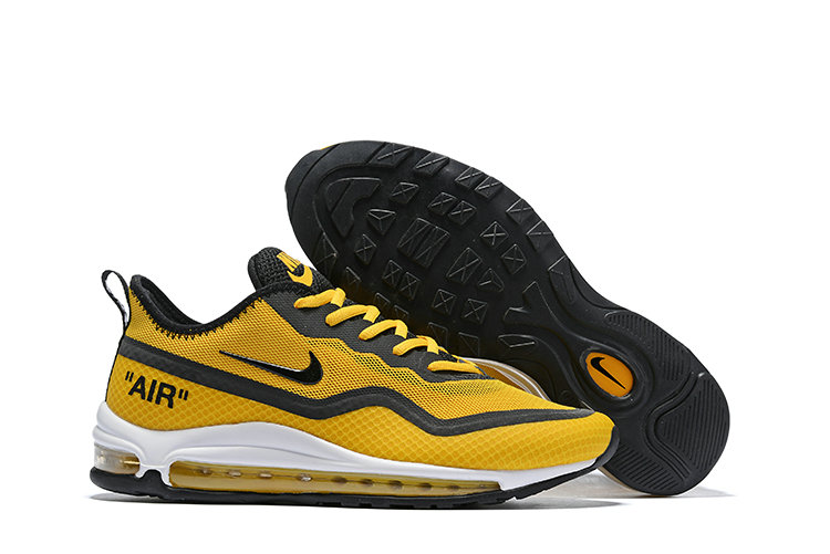 2019 Cheap Nike Air Max 97 Ultra 17 SE Yellow Black Grey White