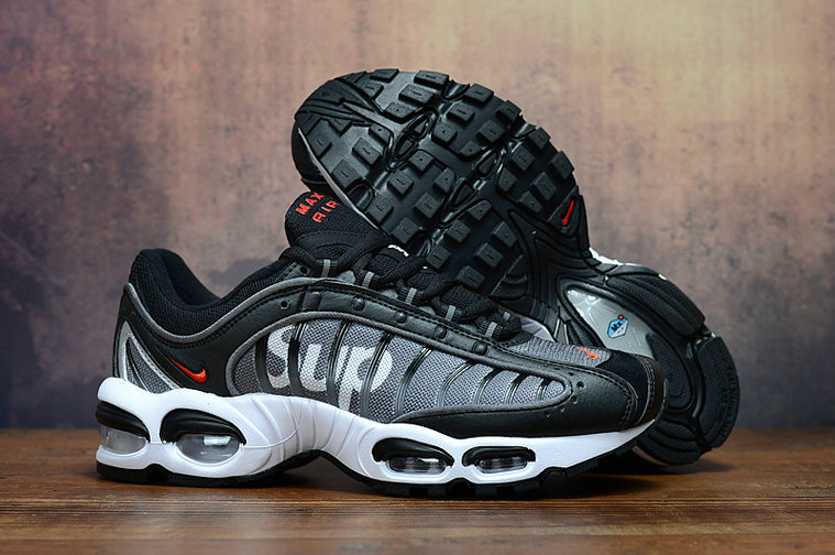 2019 Cheap Nike Air Max TN 2.0 Supreme Black Wolf Grey White Red