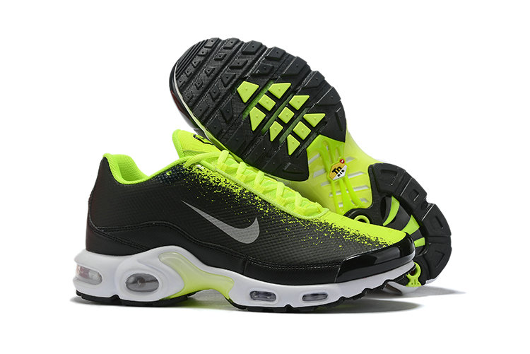 2019 Cheap Nike Air Max TN Plus Fluorescent Green Black Grey White