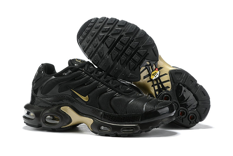 2019 Cheap Nike Air max Plus Black Gold