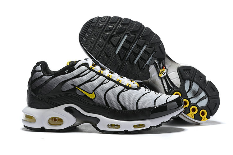 2019 Cheap Nike Air max Plus Cold Grey Yellow White Black Gold