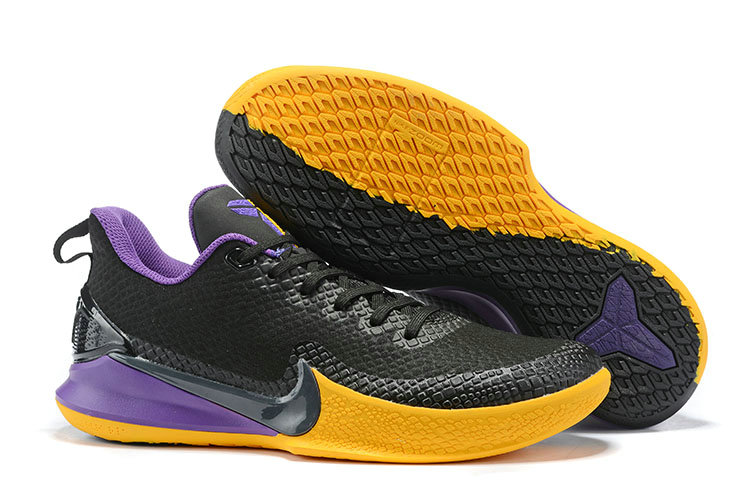 2019 Cheap Nike Kobe Mamba Focus Black Violet Yellow