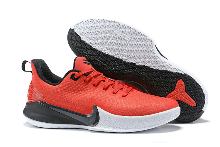 2019 Cheap Nike Mamba Focus Basketball Shoe Red Black