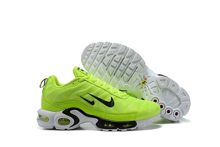 2019 Nike Air Max TN Plus Cheap Grass Green Black White
