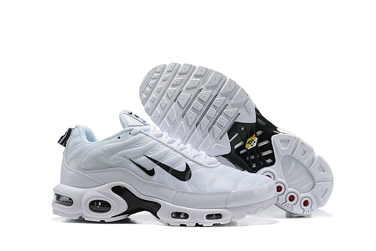 2019 Nike Air Max TN Plus Cheap White Black