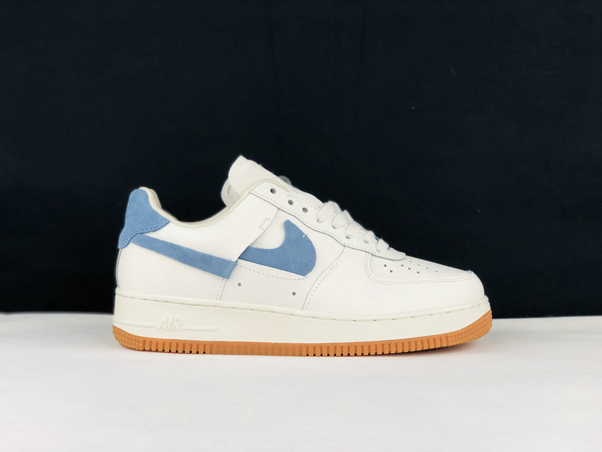2019 Where To Buy Cheap Nike Air Force 1 Vandalized Sail Green Blue BV0740-100