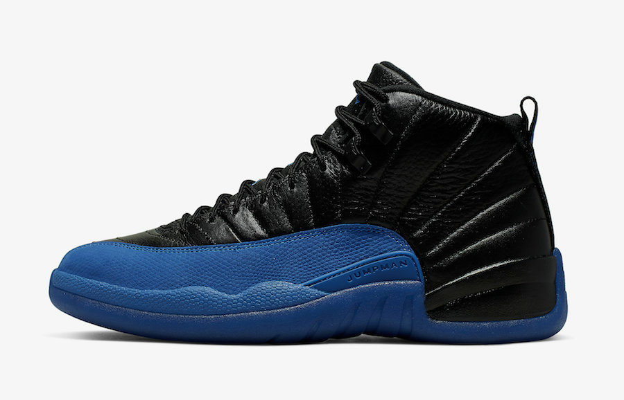 2019 Where To Buy Cheap Nike Air Jordan 12 Black Game Royal 130690-014