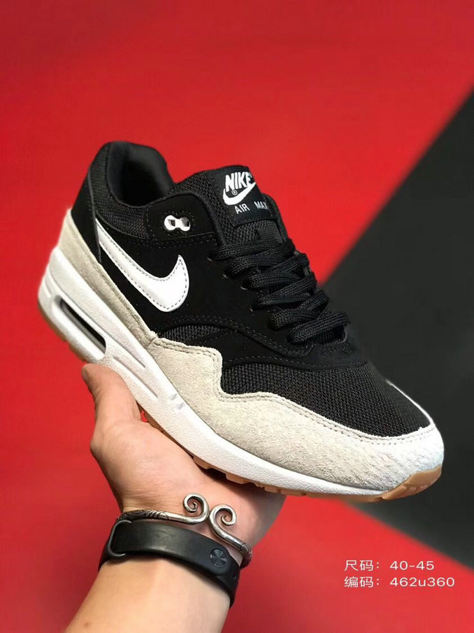 2019 Where To Buy Cheap Nike Air Max 1 87 Black Rose Gold White