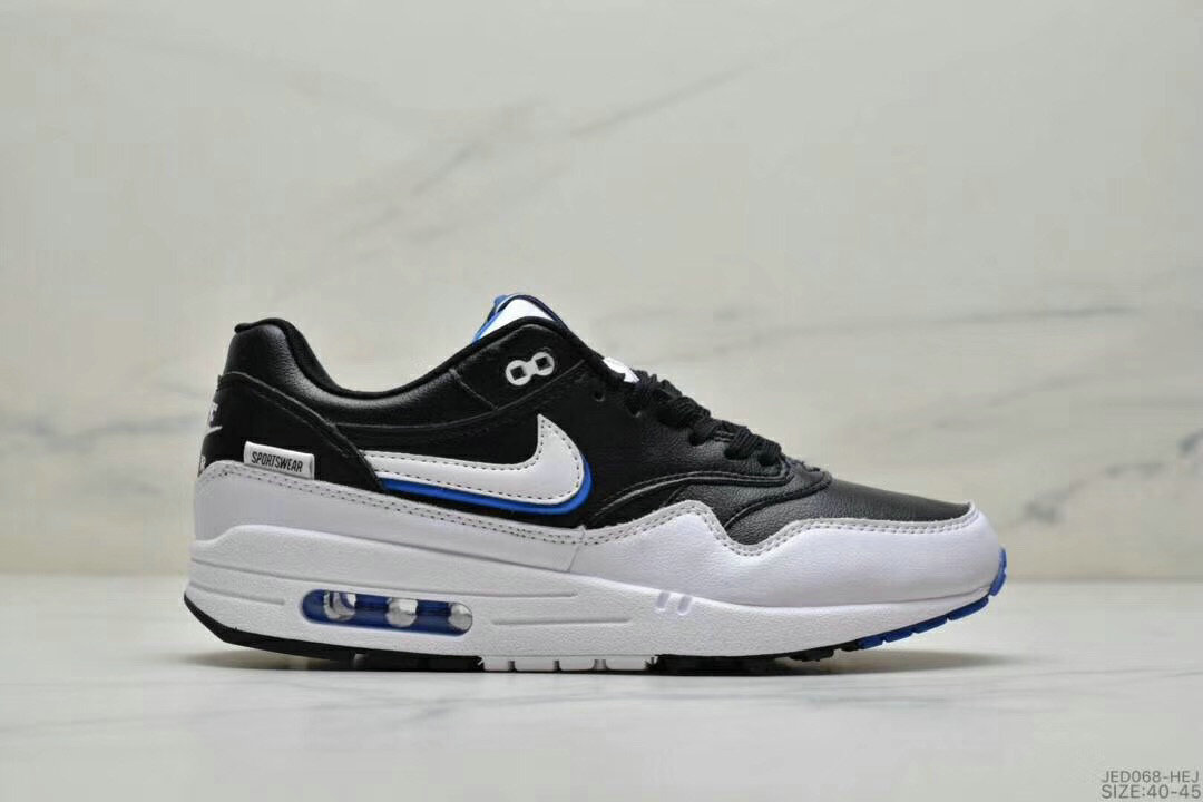 2019 Where To Buy Cheap Nike Air Max 1 87 Black White
