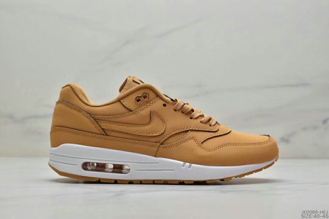 2019 Where To Buy Cheap Nike Air Max 1 87 Wheat White