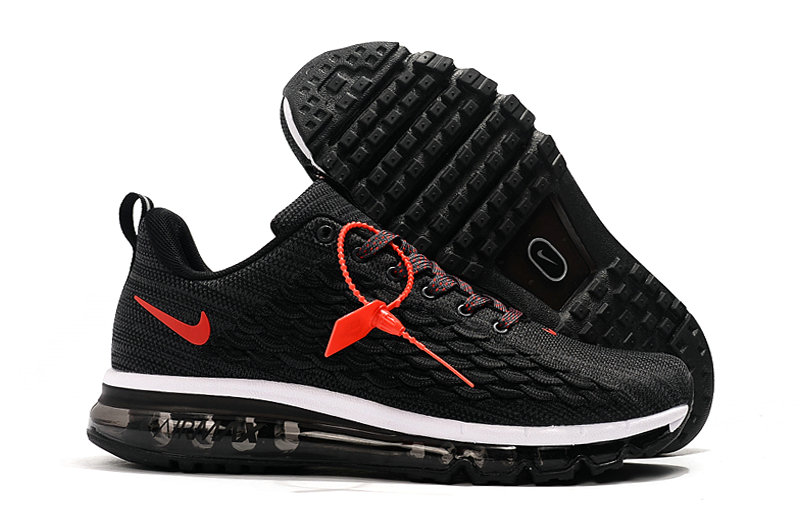 2019 Where To Buy Cheap Nike Air Max 2017 Black Red White