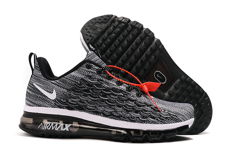 2019 Where To Buy Cheap Nike Air Max 2017 Wolf Grey Black White