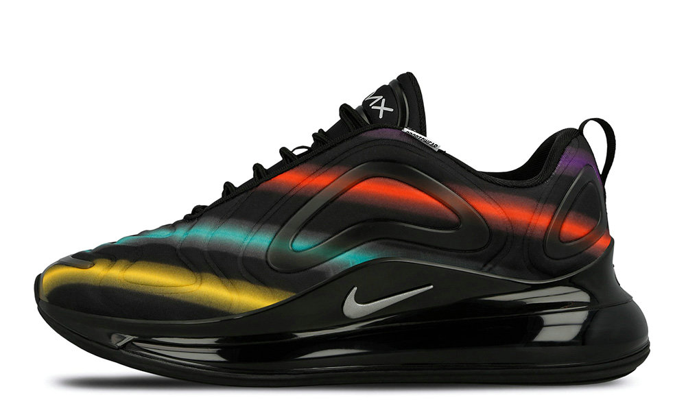 2019 Where To Buy Cheap Nike Air Max 720 Neon Black AO2924-023