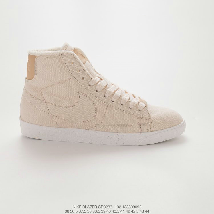 2019 Where To Buy Cheap Nike Blazer Mid PRM VNTG Pale Ivory Ivoire CD8233-102