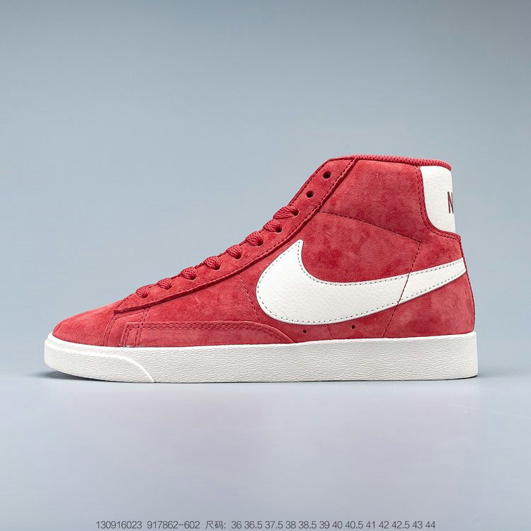 2019 Where To Buy Cheap Nike Blazer Mid Vntg Suede Speed Red Sail Sail Black 917862-602