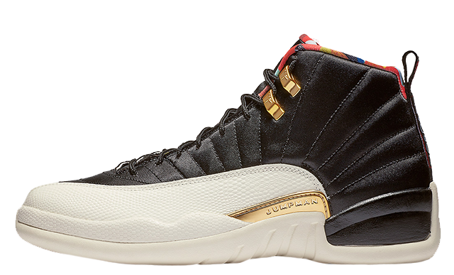 2019 Where To Buy Cheap Nike Jordan 12 Chinese New Year Black CI2977-006