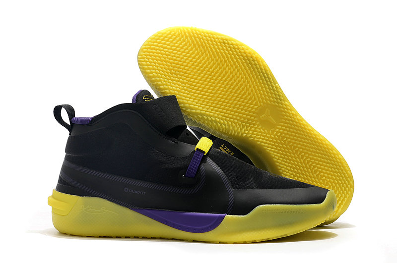 2019 Where To Buy Cheap Nike Kobe NXT Black Purple Yellow