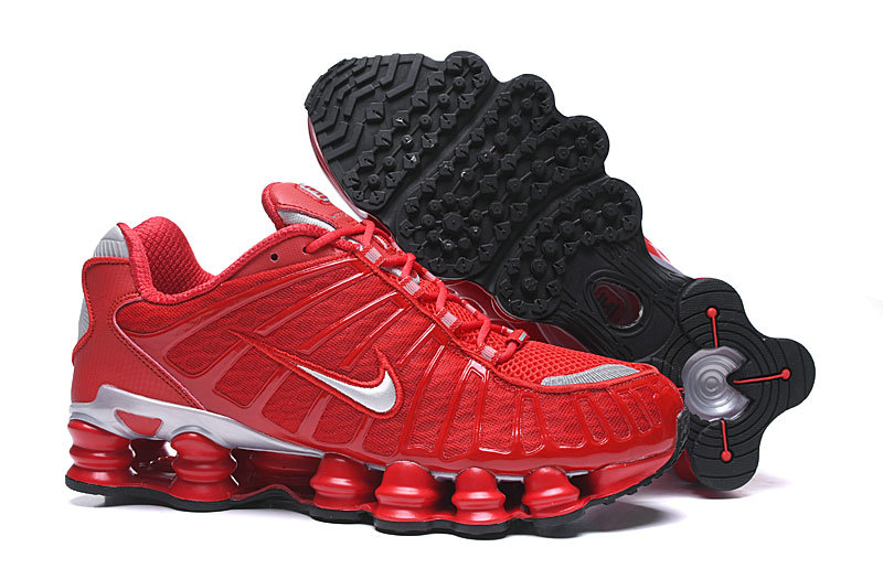 2019 Where To Buy Cheap Nike Shox TL University Red Silver Black