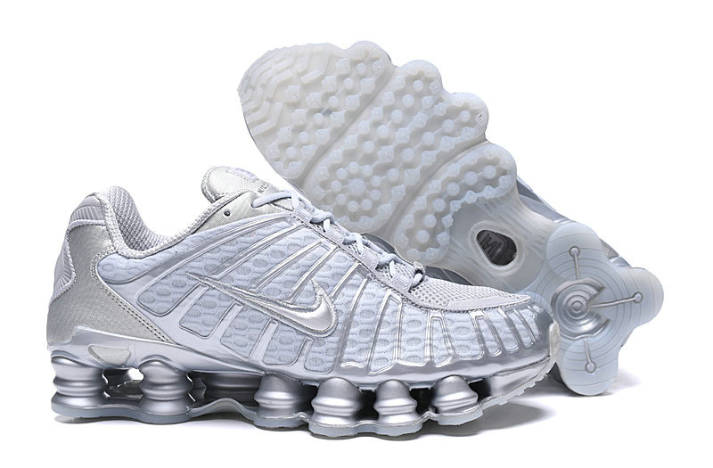 2019 Where To Buy Cheap Nike Shox TL White Cold Grey