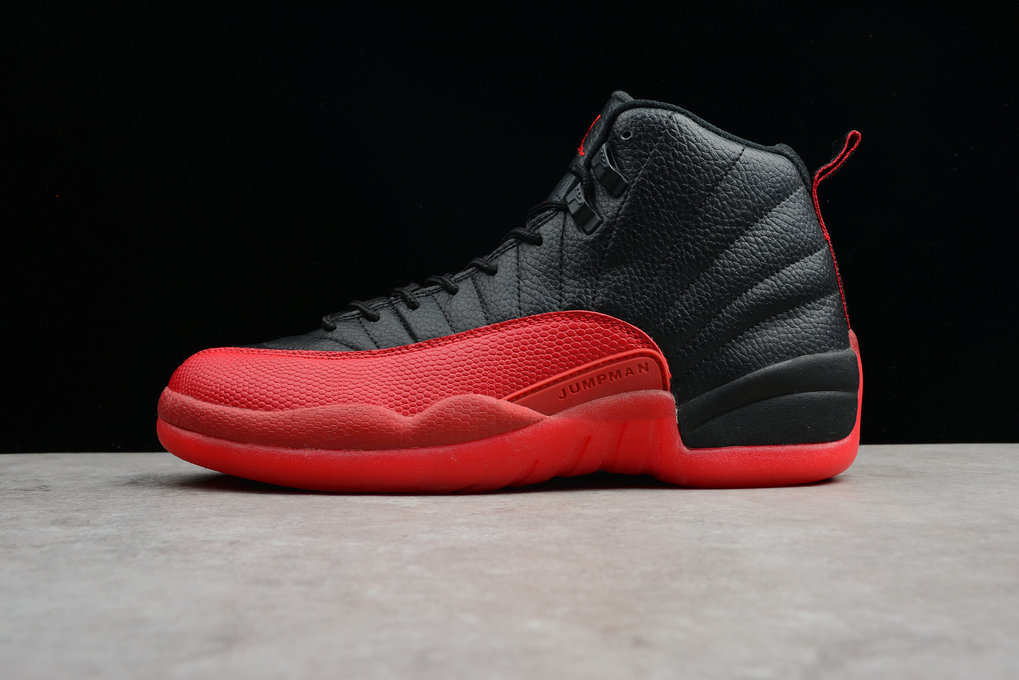 Where To Buy 2020 Air Jordan 12 Retro Flu Game Black Varsity Red 130690-002