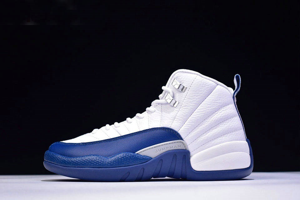 Where To Buy 2020 Air Jordan 12 Retro French Blue White French Blue-Metallic Silver-Varsity Red 130690-113