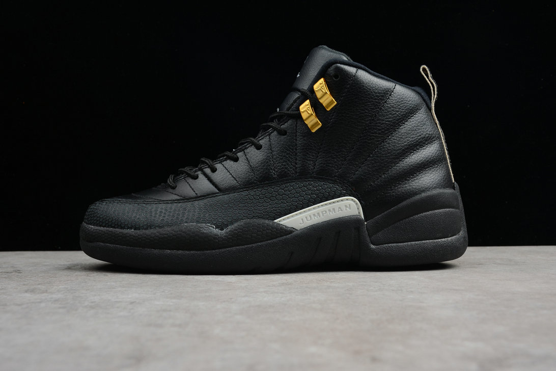 Where To Buy 2020 Air Jordan 12 The Master Black Rattan-White-Metallic Gold 130690-013
