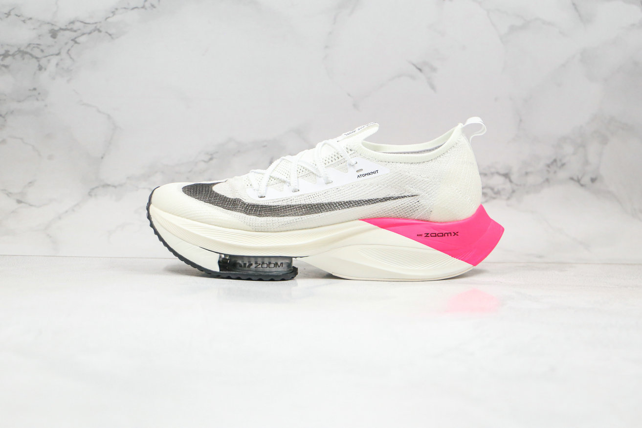 2020 Cheapest Nike Air Zoom Alphafly NEXT White Black Pink CI9925-600