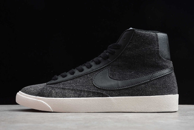 Where To Buy 2020 Mens Nike Blazer Mid QS HH Carbone Grey Black TH8236-300A