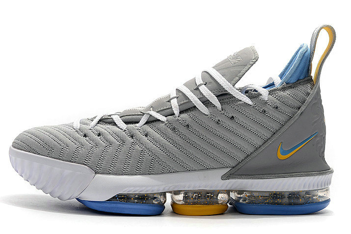 Where To Buy 2020 Nike LeBron 16 MPLS Wolf Grey White-University Blue CK4765-001