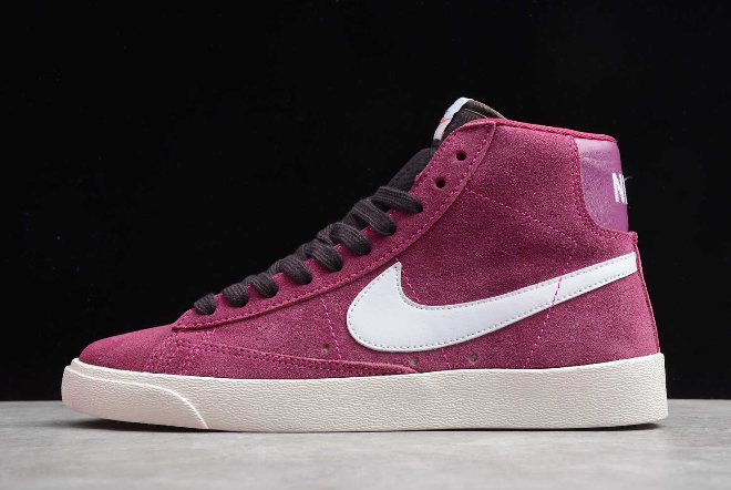 Where To Buy 2020 Wmns Nike Blazer Mid Vintage Suede True Berry AV9376-601