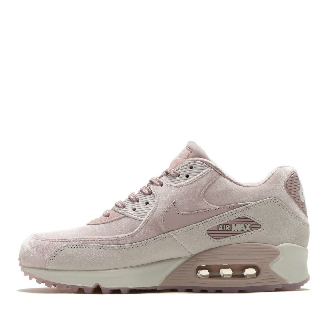 2020 Womens Cheap Nike Air Max 90 Lx Particle Rose Particle Rose-Vast Grey 898512-600