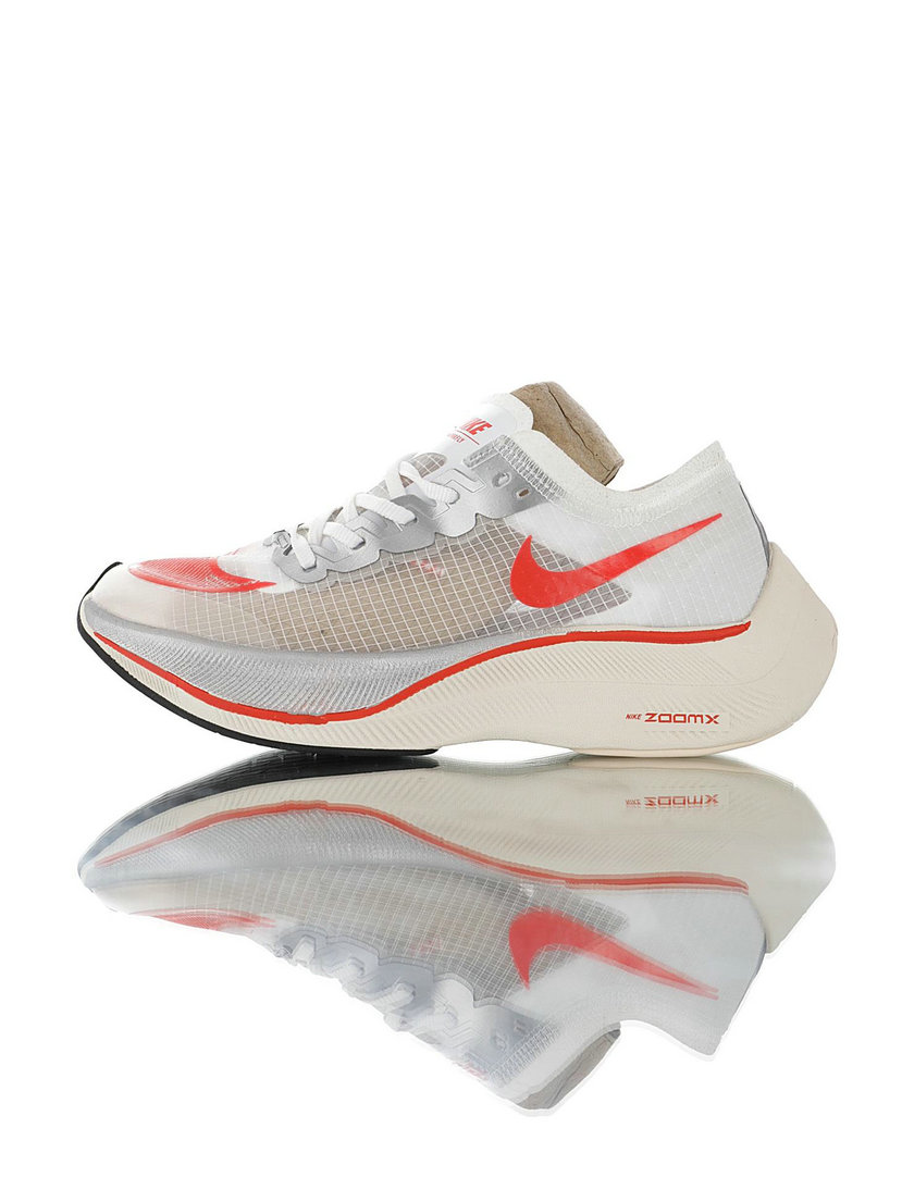 2020 Womens Cheap Nike ZoomX Vaporfly NEXT Cream Red AO4568-102