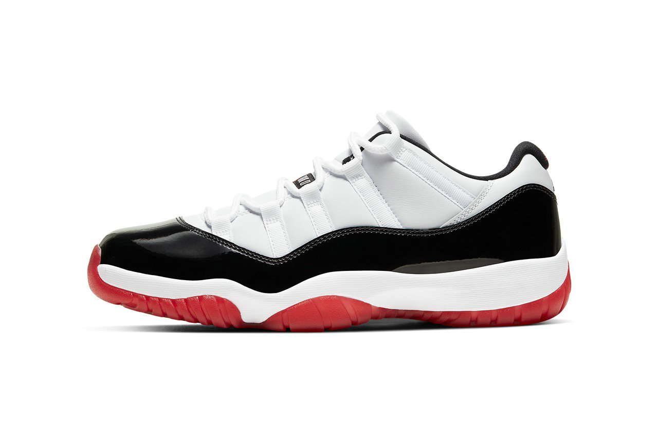 2021 Cheap Nike Air Jordan 11 Low Concord Bred Bulls AV2187-160