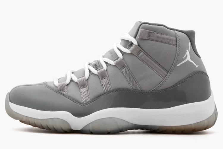 2021 Cheap Nike Air Jordan 11 Retro Medium Grey White-Cool Grey 378037-001