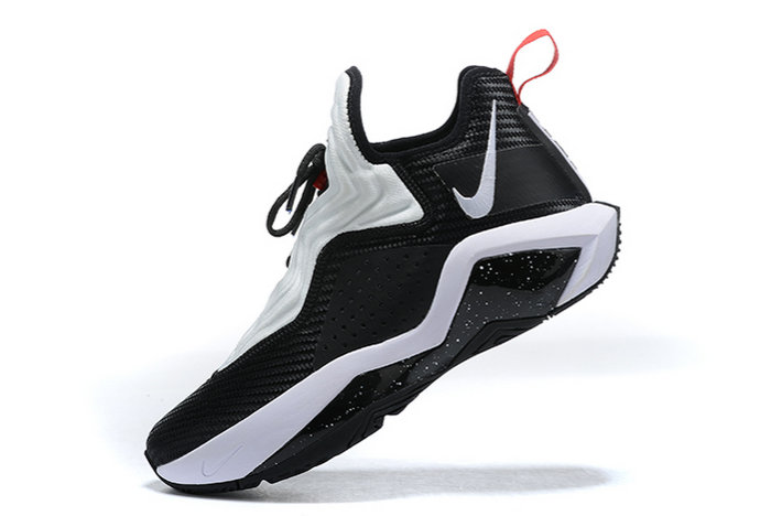 2021 Cheap Nike Lebron Soldier 14 Bred Black White Red CK6047-002