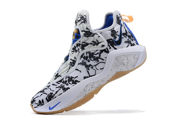 2021 Cheap Nike Lebron Soldier 14 White Black-Royal Blue
