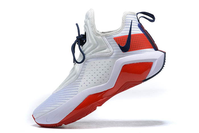 2021 Cheap Nike Lebron Soldier 14 White Red CK6024-100